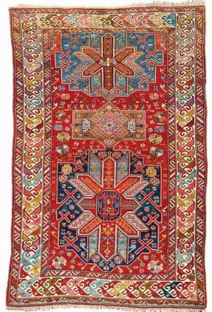 Lot 99. Derbent, ca. 208 x 130 cm, circa 1900. Estimate EUR 1,800 to 2,200