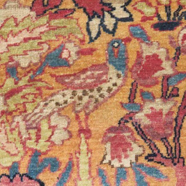 Aaron Nejad Exceptional Kerman rug detail 600x600 - LARTA Online