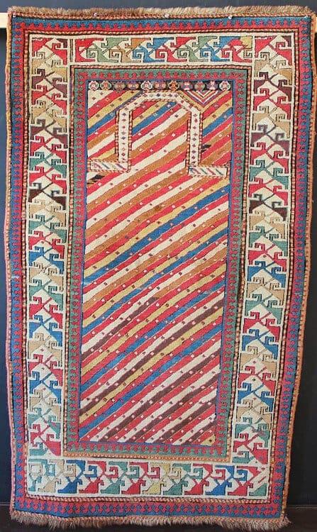 James Cohen - Shirvan prayer rug, North East Caucasus, C19th