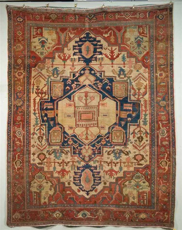 20150511 37 600x759 - More Serapi rugs I