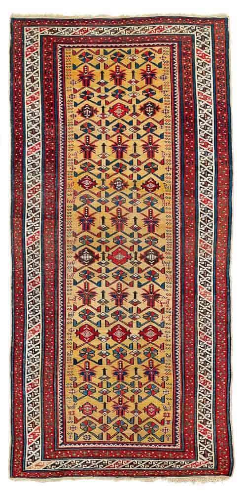 Yellow ground Daghestan, second half 19th century. Exhibitor Serkan Sari