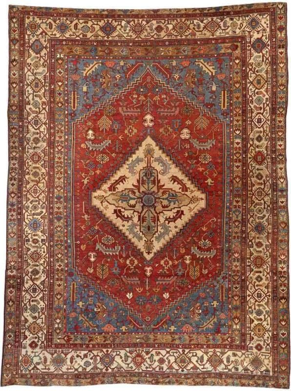 3128 596x800 - More Serapi rugs I