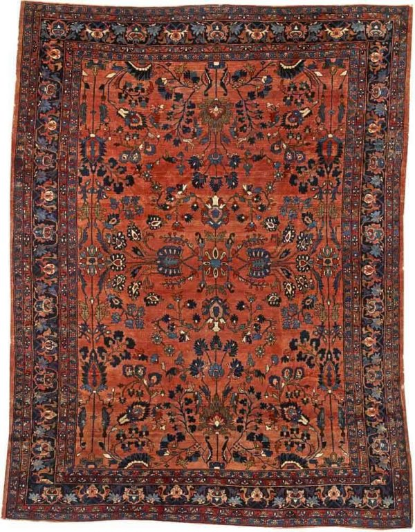Lot 3221. A LILIHAN CARPET. Central Persia size approximately 10ft. 5in. x 13ft. 10in. US$ 2,000 - 4,000