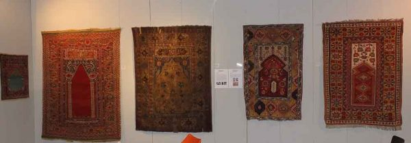 The special exhibition of prayer rugs