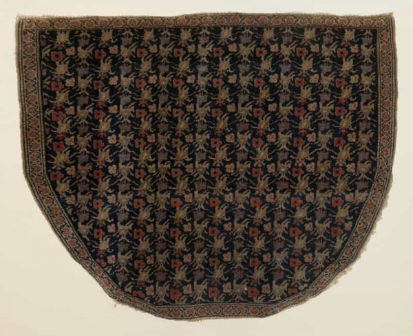 Senneh Saddle Rug late 19th century. Photo credit Stan Freeny