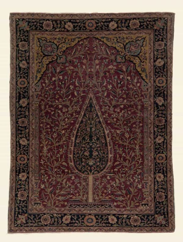 Tabriz Cypress Tree Carpet, Isfahan late 19th century. Photo credit Stan Freeny