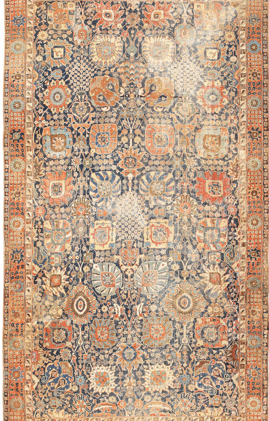 Lot 1120. A KERMAN VASE CARPET. Southeast Persia size approximately 11ft. 5in. x 20ft. 2in. US$ 300,000 - 500,000