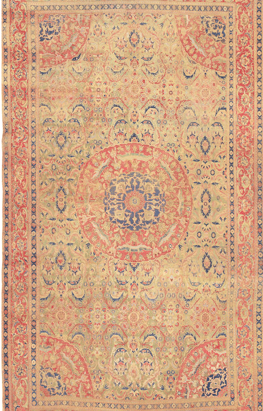 Lot 1151. AN OTTOMAN CAIRENE LONG CARPET. Cairo, Egypt size approximately 11ft. 9in. x 21ft. 6in. US$ 100,000 - 200,000