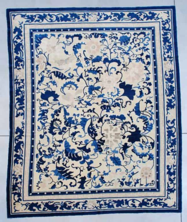 Peking Chinese 3rd Quarter 19th Century 222 x 271 cm 600x712 - New York International Carpet Show and the Antique Pavillion