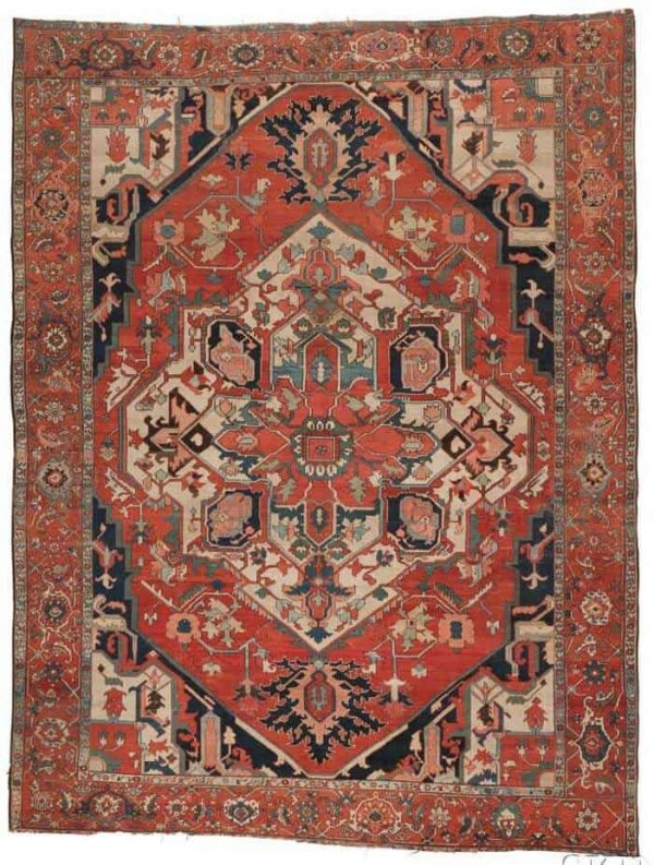 3004B Lot 14 Serapi Carpet 600x793 - More Serapi rugs I