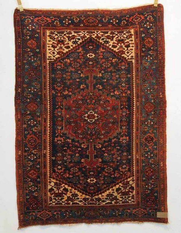 Lot 124, a Malayer rug, circa 1930, 190 x 134 cm