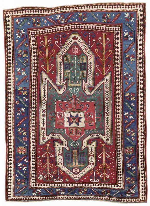 Lot 283, a Sewan Kazak rug, South Caucasus circa 1880. Estimate 15.000-20.000 GBP