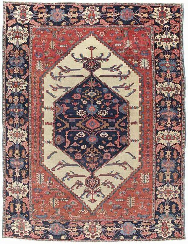 Lot 321, a Bakshaish carpet, West Persia circa 1880. Estimate 20.000-30.000 GBP