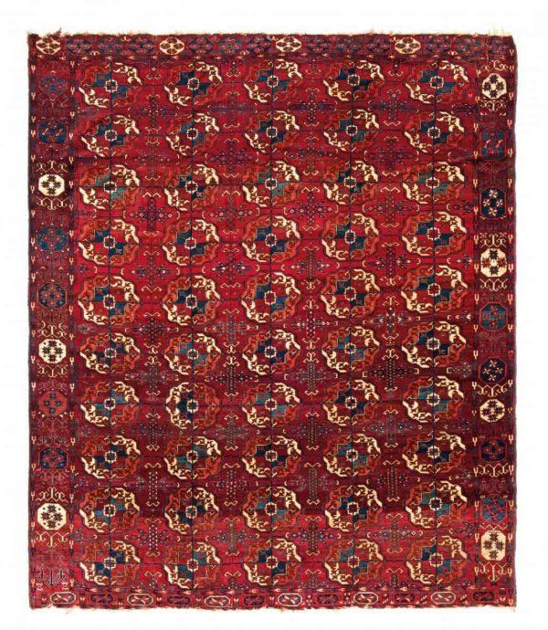 42 tekke main carpet 600x690 - Tekke rugs