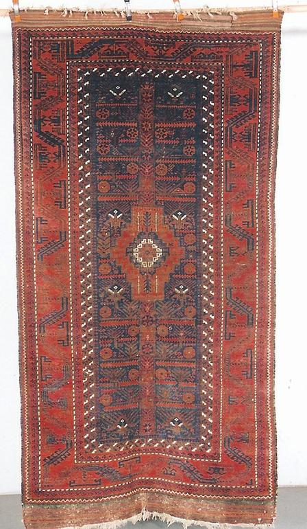 19th century Baluch rug - exhibitor Rons Hort
