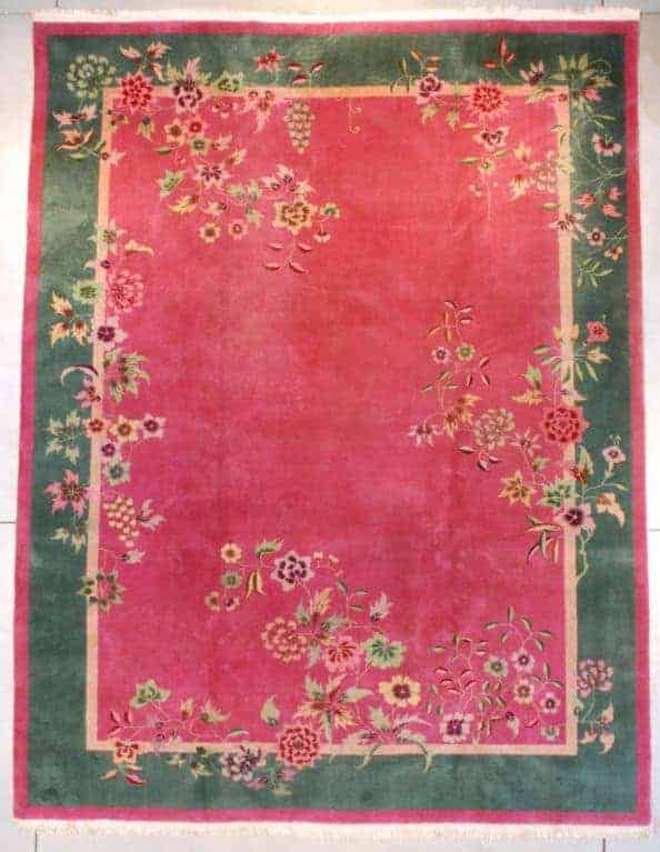 Art Deco Chinese Rug. Robert T. Mosby - Chinese Art Deco rugs
