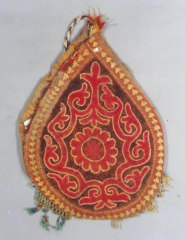 Felt bellows bag made in Uzbekistan - Felt rugs