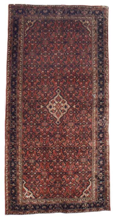 Hosseinabad rug. Oriental Rugs of Bath