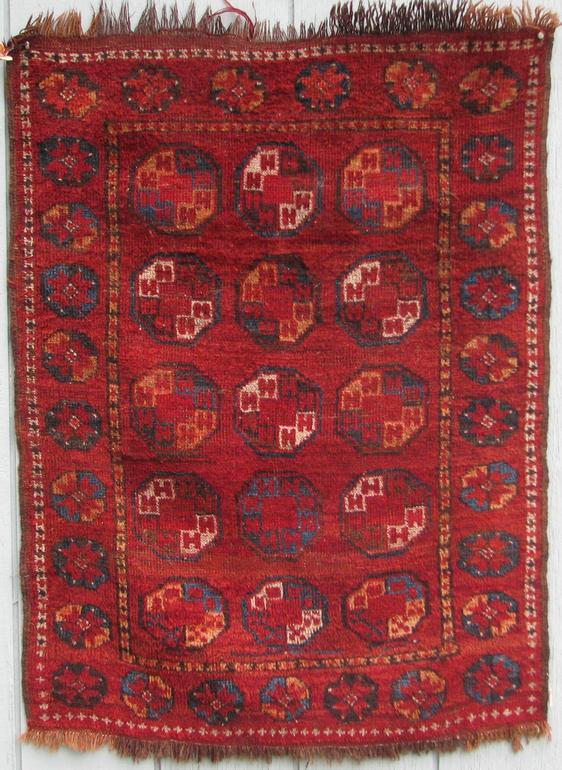 Karakalpak rug from the early 19th century. Exhibitor Craig Hatch