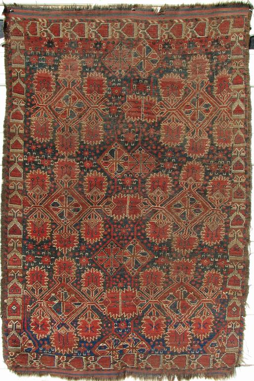 Mid 19th Century Ersari Amu Darya area Exhibitor Craig Hatch - More Ersari rugs V