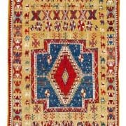 Ait Ouaouzguite Berber rug. North Africa, Morocco, first half 20th century. Rippon Boswell