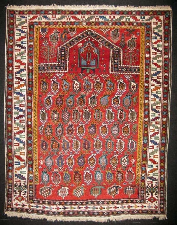 Prayer Shirvan 4´3X5´5 Exhibitor Ali Aydin 600x762 - Shirvan rugs