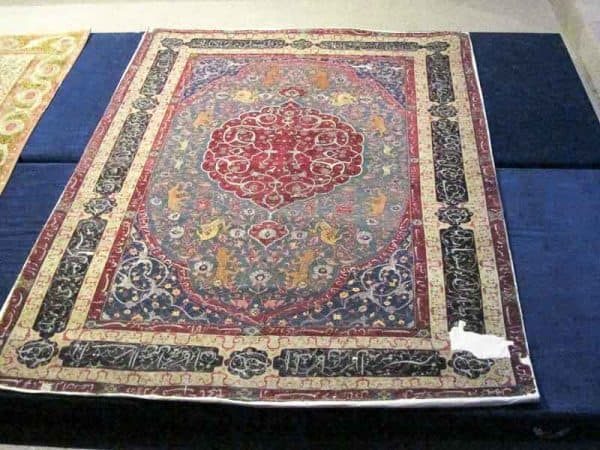 IMG 8750 600x450 - Safavid carpets - Iran Carpet Museums 40th anniversary