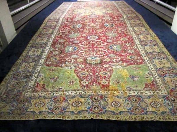IMG 8753 600x450 - Safavid carpets - Iran Carpet Museums 40th anniversary
