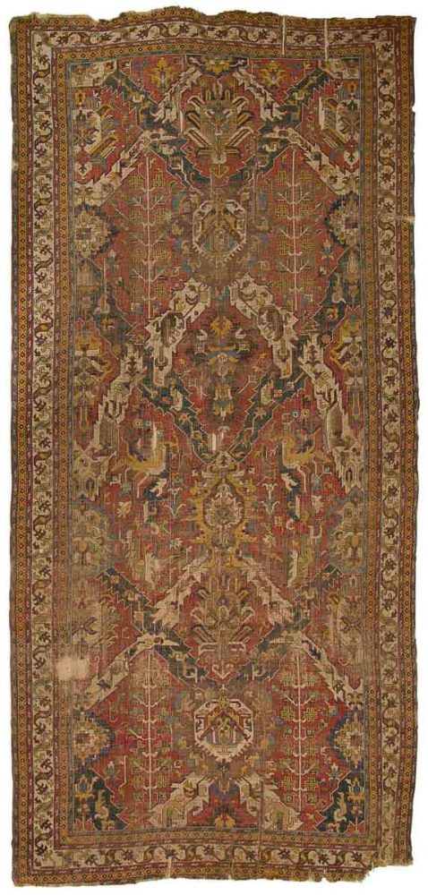 17th c. Dragon carpet (Baku Carpet Museum – 14th International Conference on Oriental Carpets)