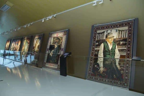 Azerbaijan Carpet Museum's exposition