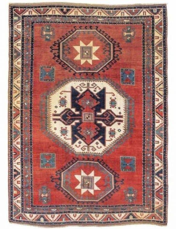 Lot 48, a Lori Pambak,Southwest Caucasus, c. 270 x 198 cm, about 1900.