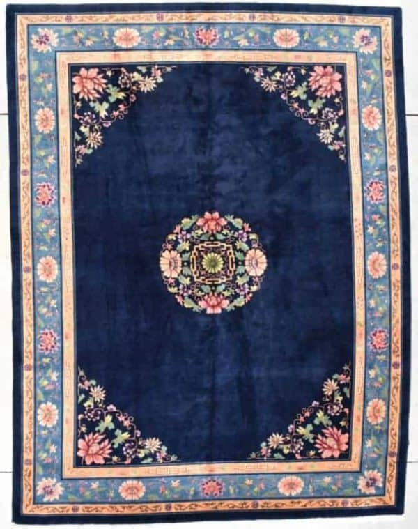 Circa 1925 Chinese Art Deco rug