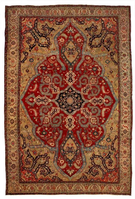 Serapi carpet