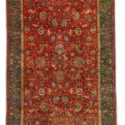 Tabriz Hunting carpet
