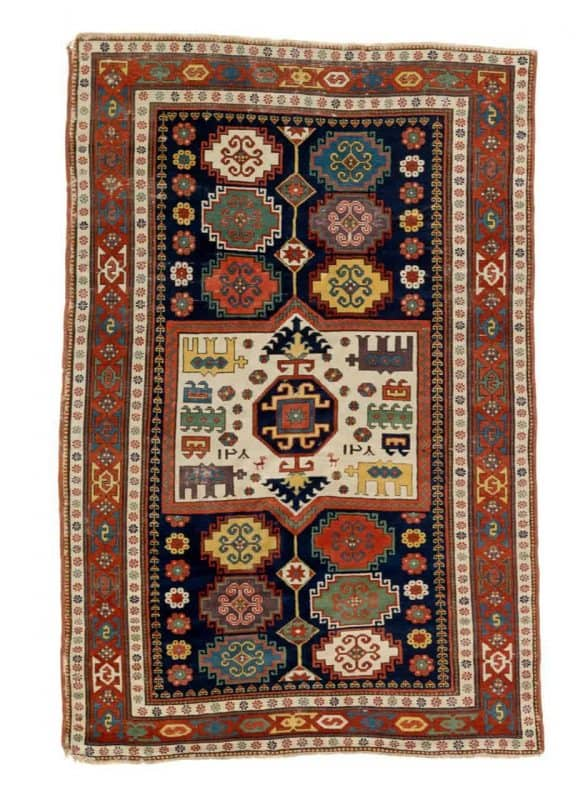 antique Kasak rug