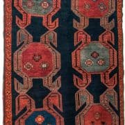 Bahmanli carpet, Krabakh, Azerbaijan 19th century. State Museum of Oriental Art's Collection.
