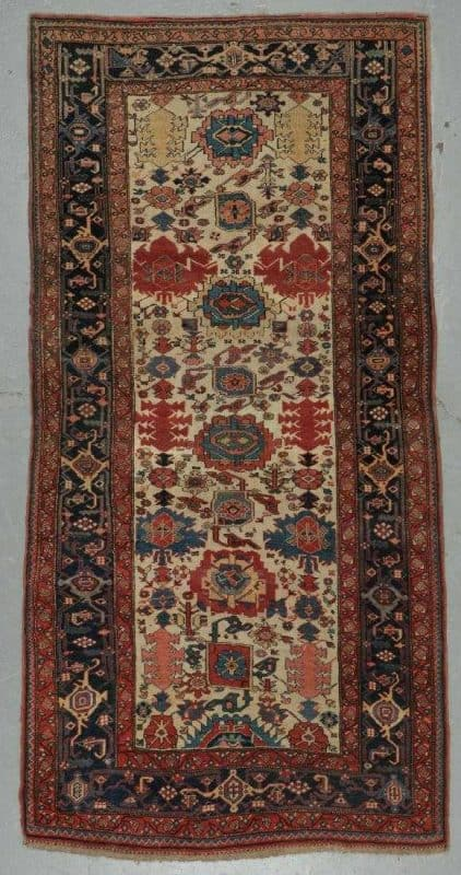 Lot 124 Antique Bidjar rug