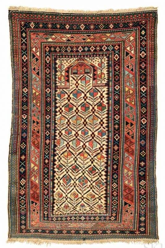 Lot 21 Shirvan prayer 533x800 - Shirvan rugs