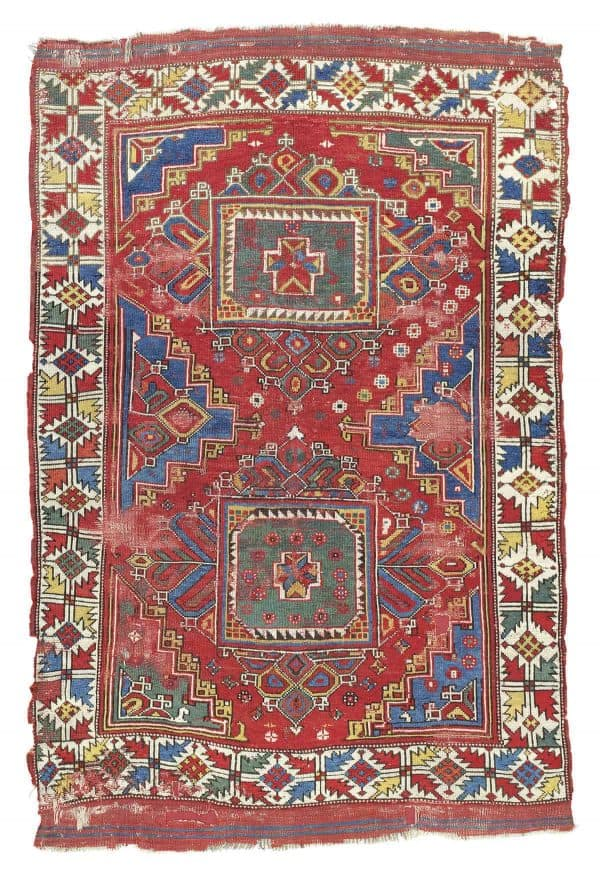 Ghirlandaio rug Bergama West Anatolia