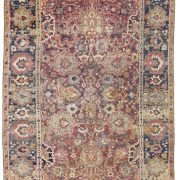Lot 257 Safavid Isfahan rug Central Persia 17th century 180x180 - Rug lexicon