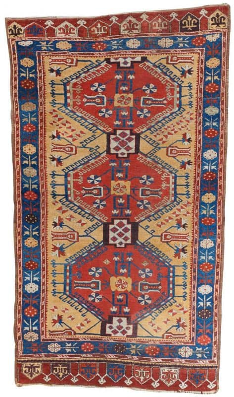 Lot 314 Turkish village rug. Grogan Spring Auction including antique carpets