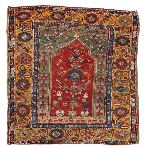 259 Anatolian prayer rug 600x610 - Bukowskis sale including carpets and textiles