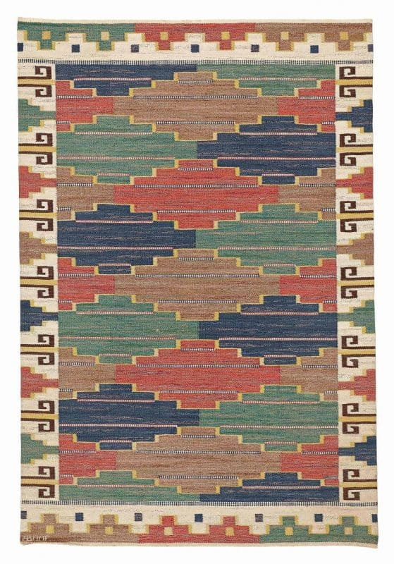 292 swedish flatweave 559x800 - Bukowskis sale including carpets and textiles