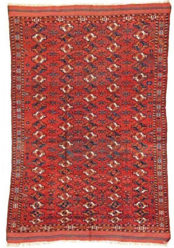 Kizil Ayak Main Carpet. Antique oriental rugs including Turkmen rugs from Siawosch Azadi
