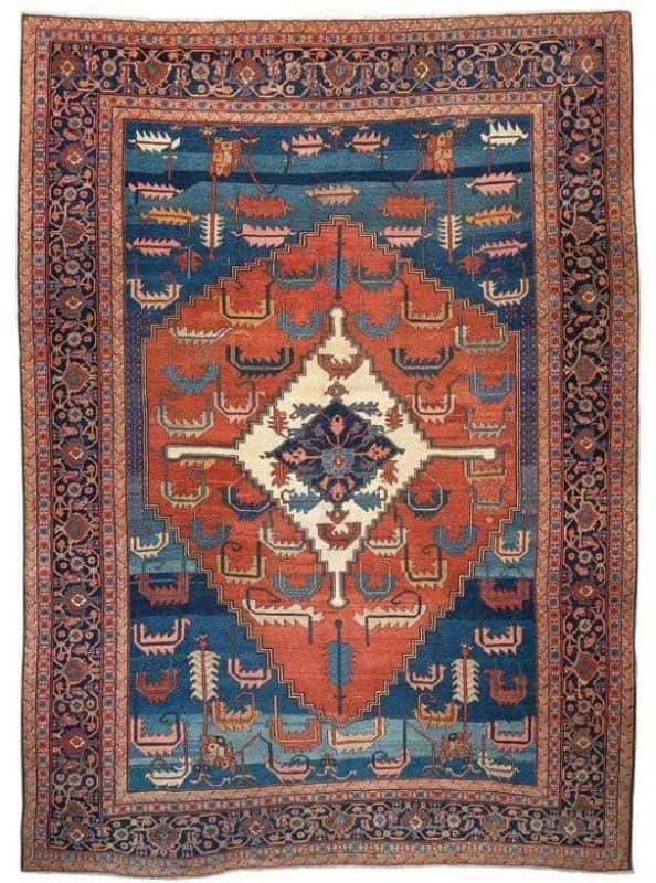 Bakshaiesh 1880. Antique Rugs and Carpets at Wannenes