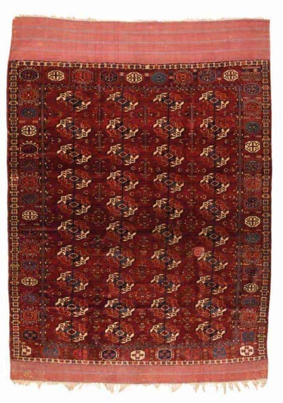 Tekke 1870. Antique Rugs and Carpets at Wannenes