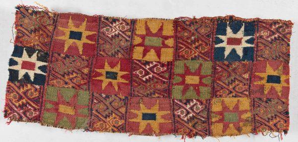 Inca textile fragment