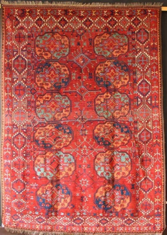 Antique Ersari main carpet circa 1850 188 x 262cm James Cohen 6 569x800 - Hali Fair preview