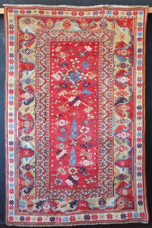 Antique Melas rug first half of the 19th century 113 x 173cm James Cohen 2 534x800 - Hali Fair preview