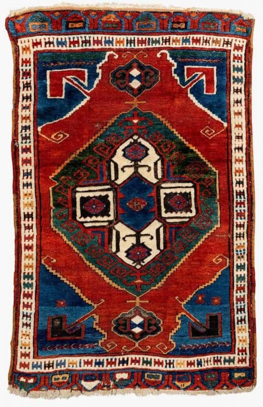 Central Anatolian Karapinar rug circa 1800. Size 160 x 120. Exhibitor David Sorgato 517x800 - Hali Fair preview